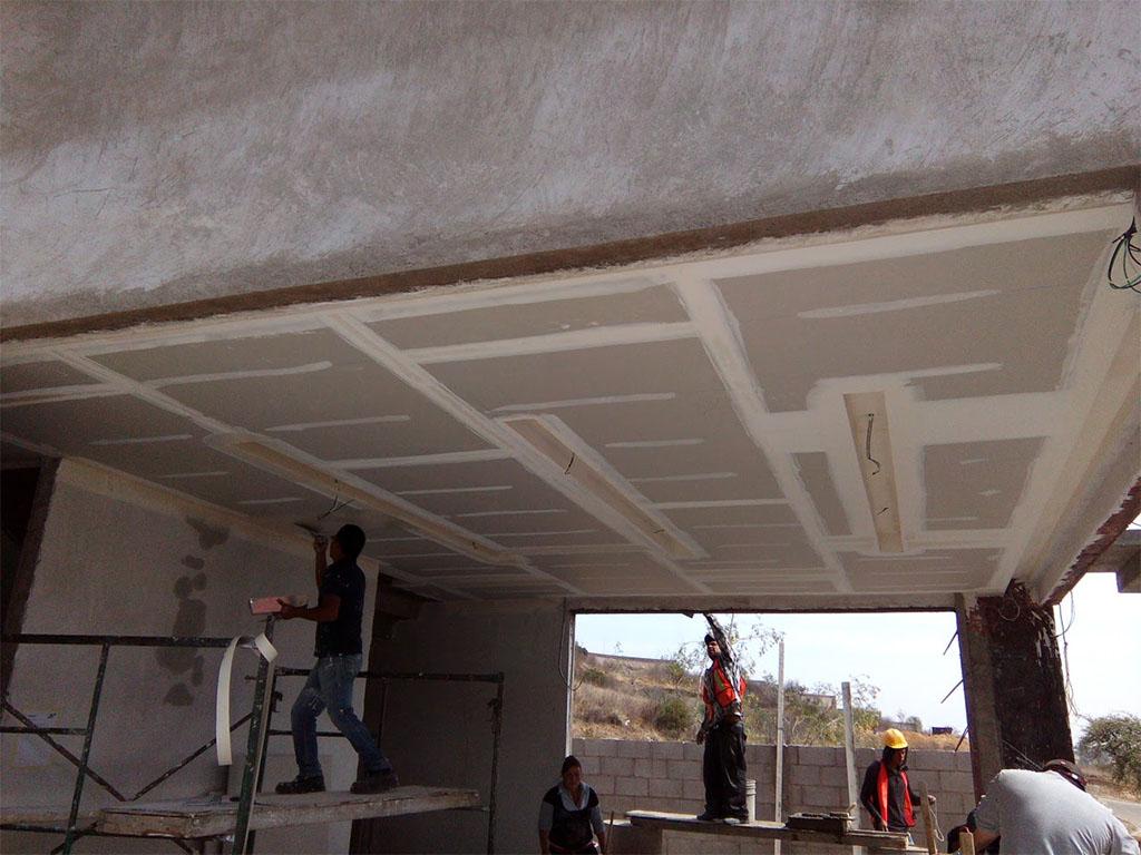 Instalación de falso plafon