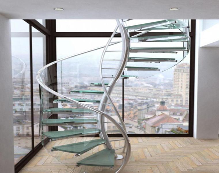 15 hermosos y modernos diseños de escaleras para tu casa