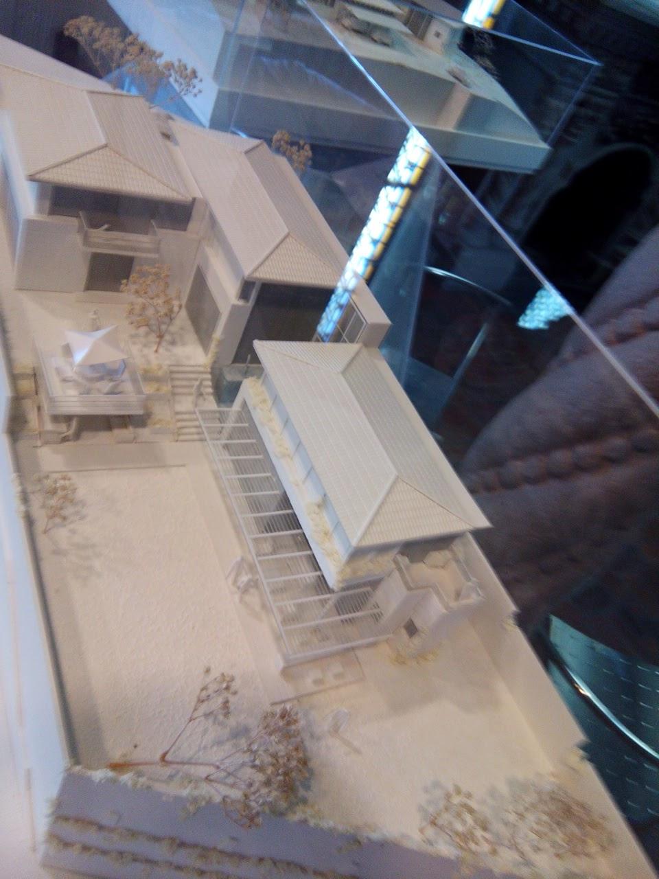 Maqueta de proyecto arquitectónico