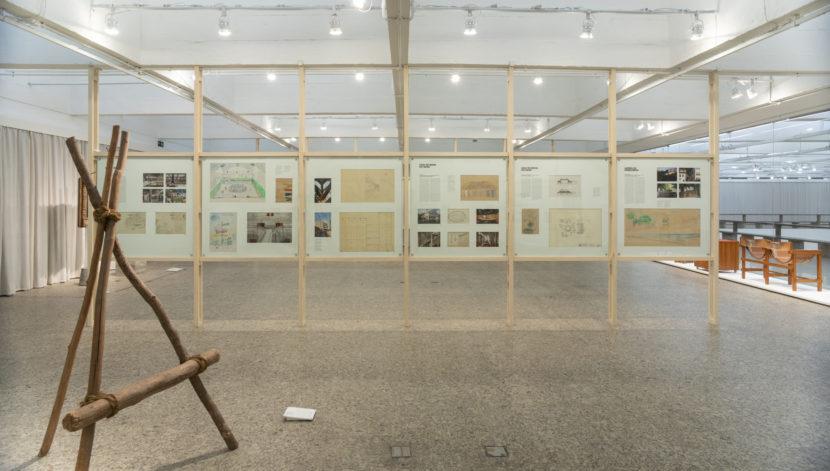 Lina Bo Bardi en el Museo Jumex de la Ciudad de México