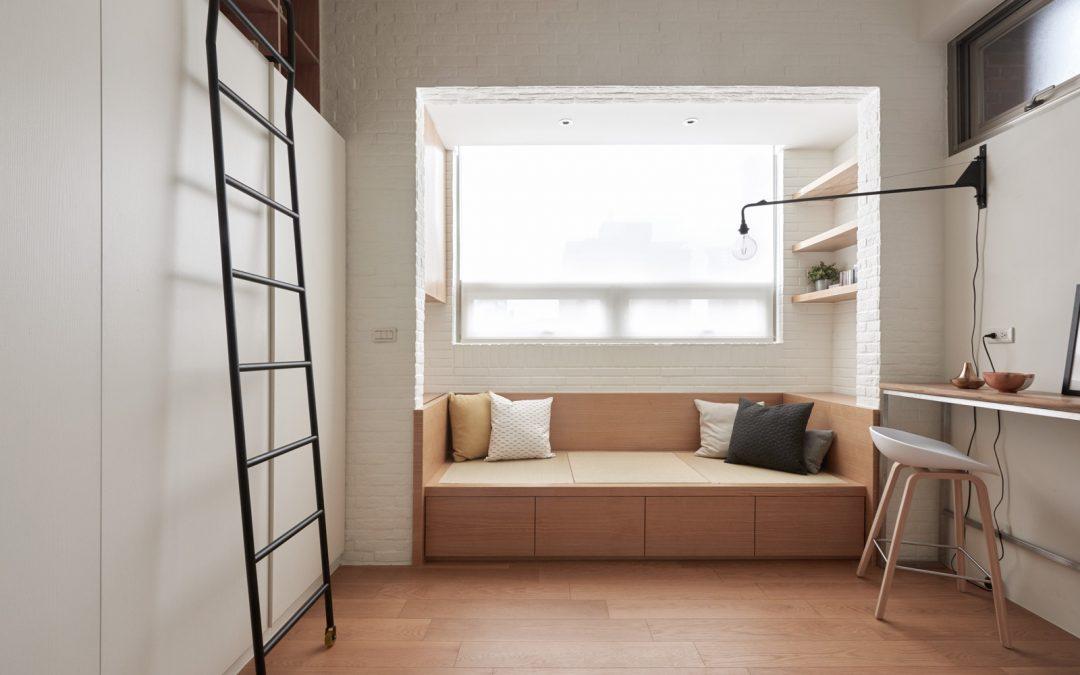 Soluciones multifuncionales en departamentos de menos de 30 m²